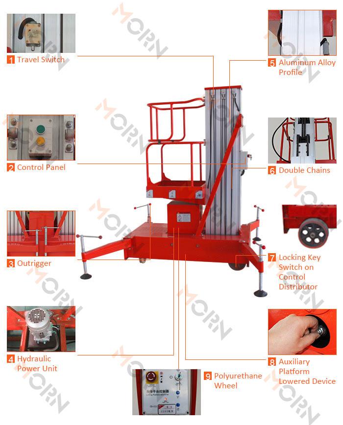 aluminum alloy lift