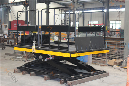 New designed Mini electric scissor lift for SG customer 2