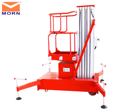 single post aluminum alloy lift