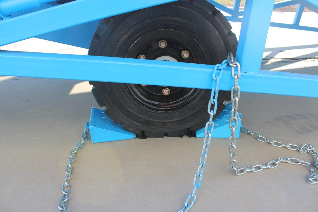loading dock ramp tires
