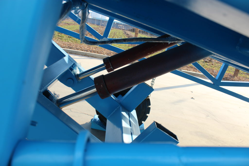 loading ramp hydraulic power