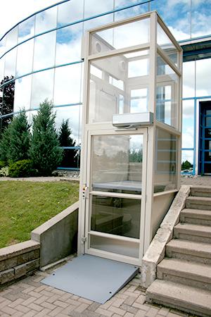 cabin wheelchair lift