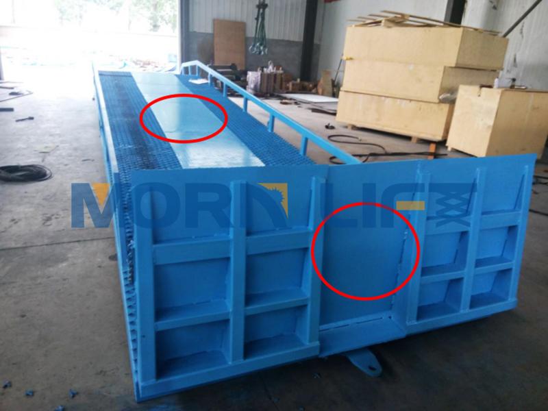 mobile loading dock ramp customization