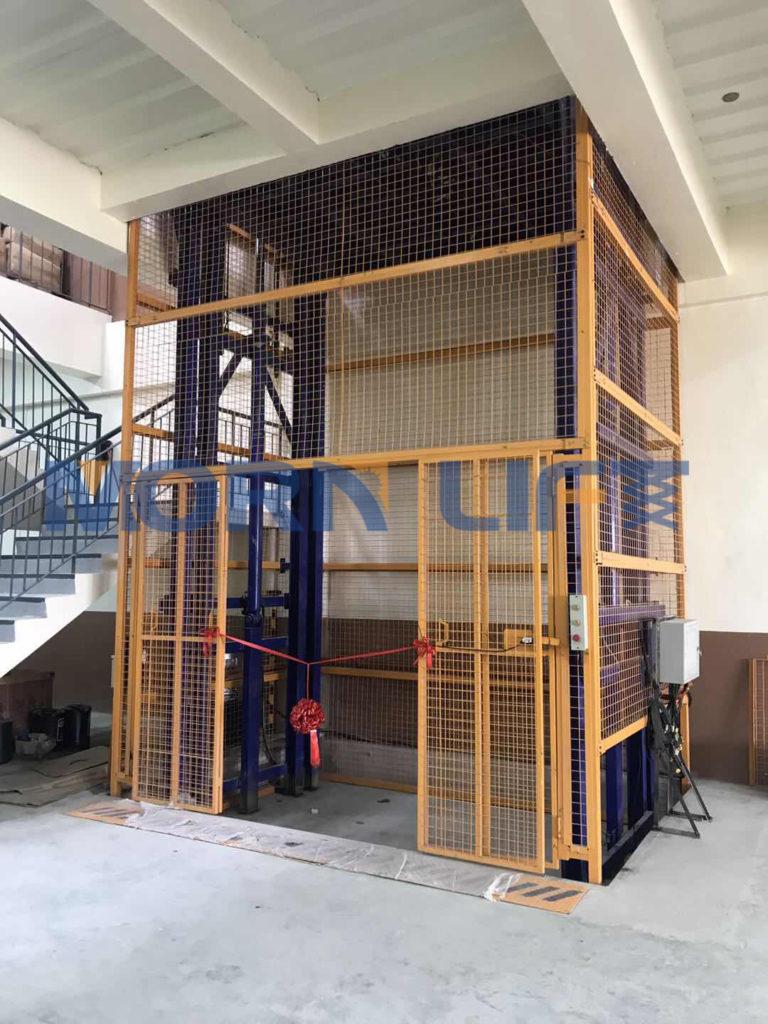 8 ton cargo lift feedback