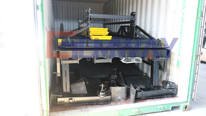 loading dock ramp shipment