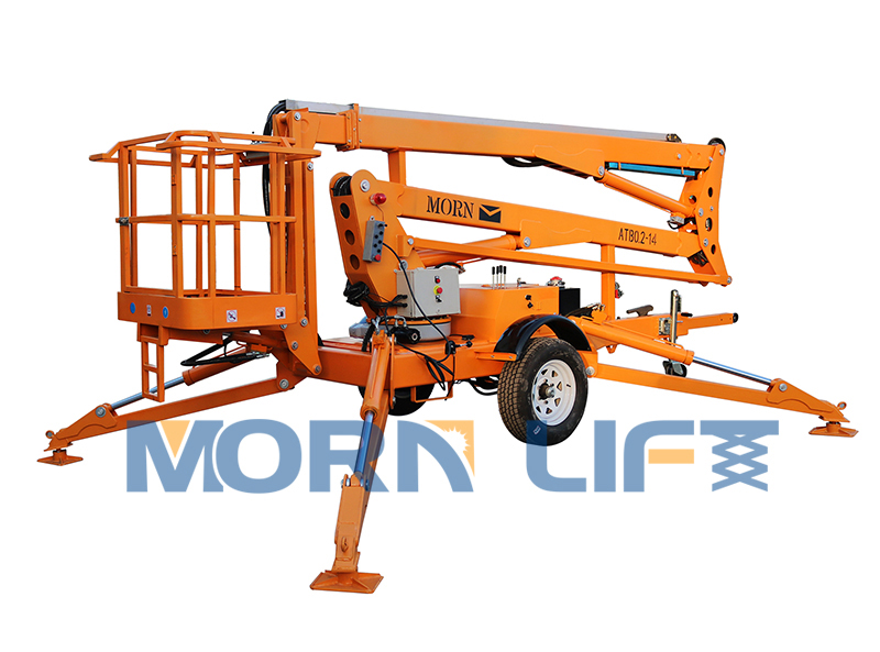 14m towable man lift