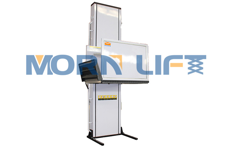 MORN LIFT Worked with Argentinian Customer to Build a Custom Wheelchair Lift Platform 1