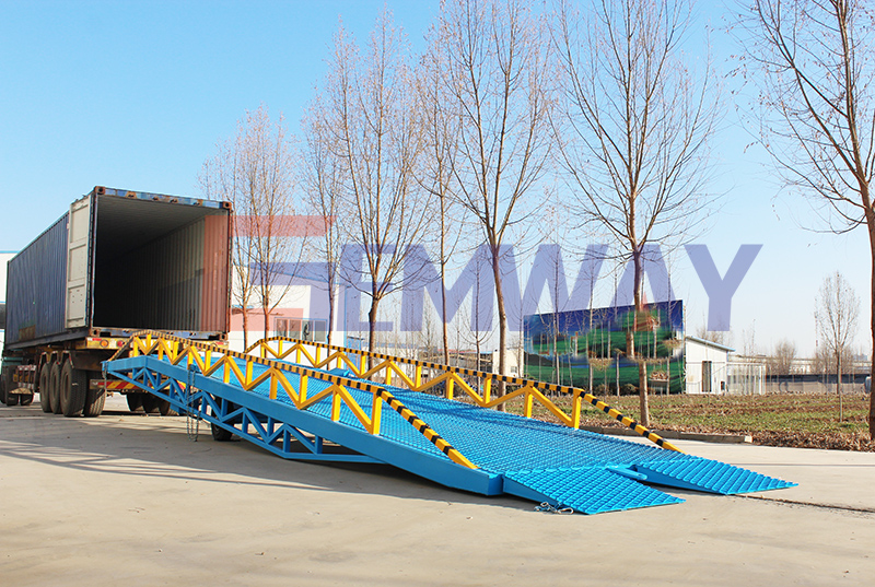 loading dock ramp for container