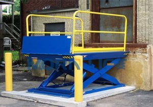 Loading dock lift