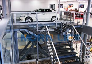 Scissor car lift1
