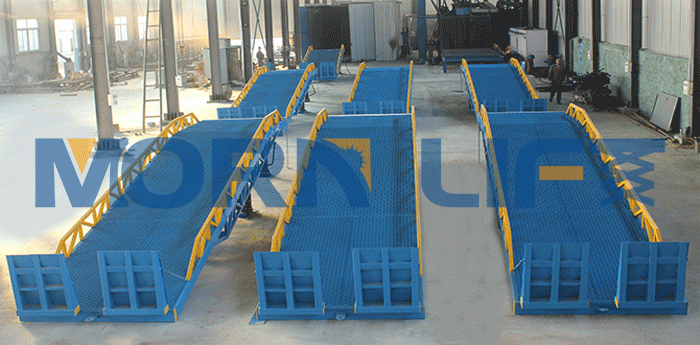 customer order 7 mobile loading ramps