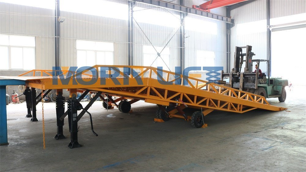 Customized 6m Wide Mobile Loading Dock Ramp