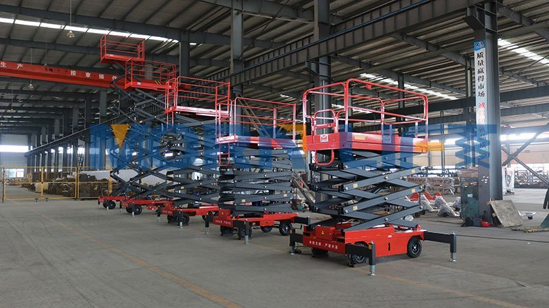 What is MORN mobile scissor lift advantages