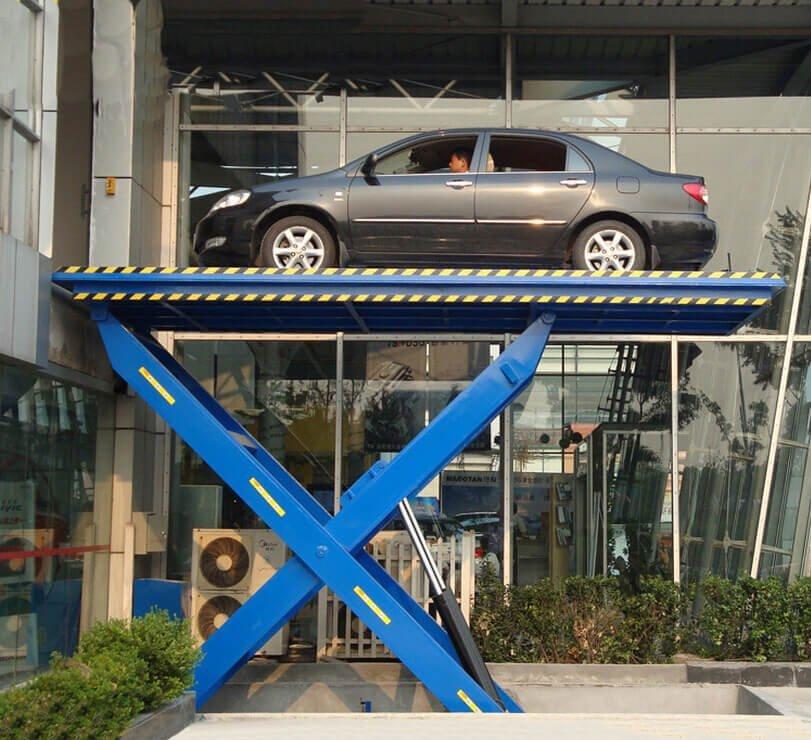 scissor car lift for lifting cars