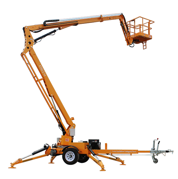 Advantages of MORN trailer boom lift