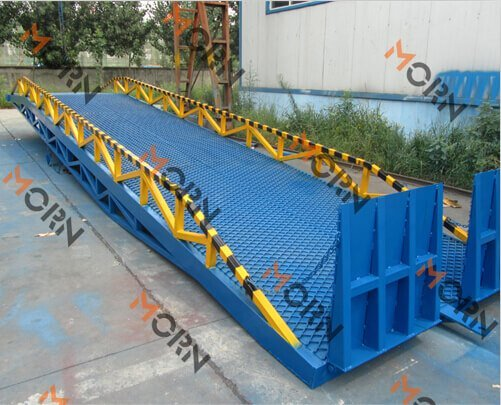 mobile loading ramp for UAE client