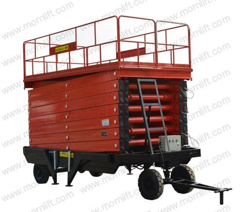 mobile scissor lift 18m