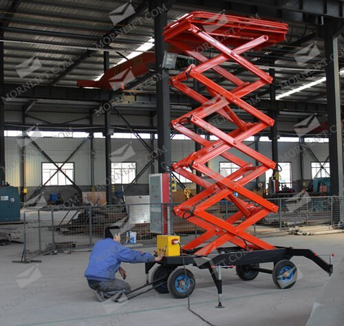 mobile scissor lift 6m