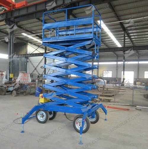 mobile scissor lift 8m