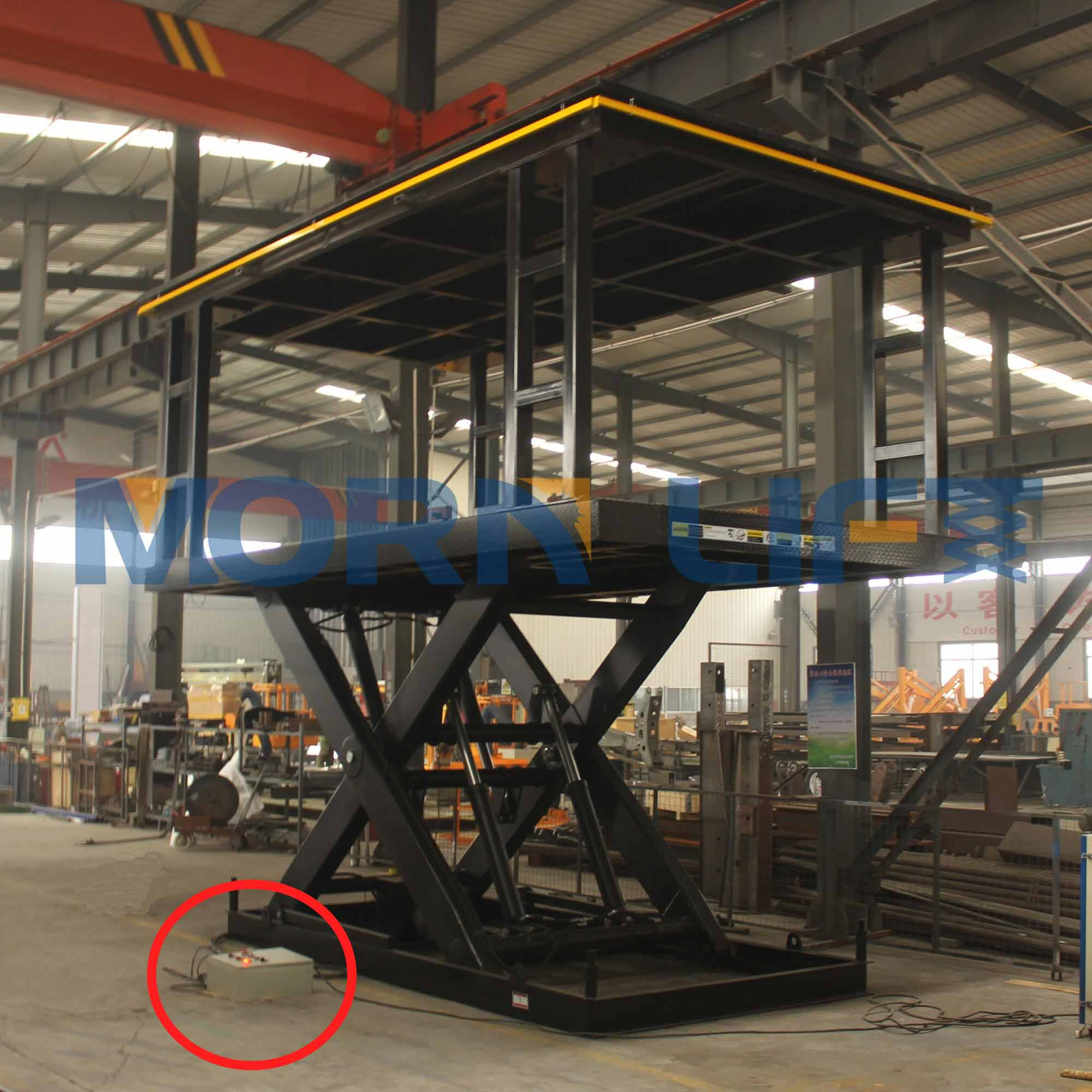 Why control system is key to MORN stationary scissor lifts?