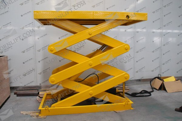 We main to produce hydraulic lift for 15 years in China, Morn Lift has advanced production equipment, mature technology process and strict management system and improving the marketing system. The product spreads China, Europe, Americas, Australia, national area and so on Asia, obtained the customer affirmation and the faith.