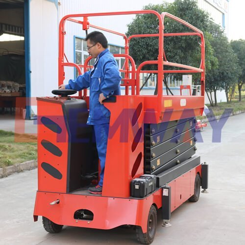 self drive scissor lift