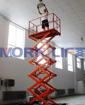 mobile scissor lift application