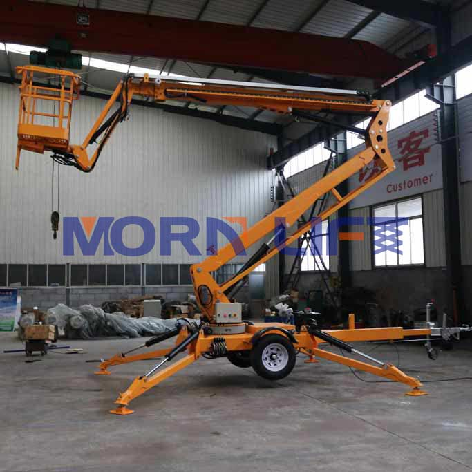 Rules and Specification of Trailer Boom Lift