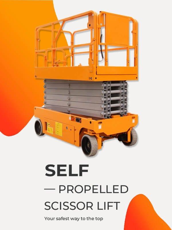 Self-propelled Scissor Lift 2
