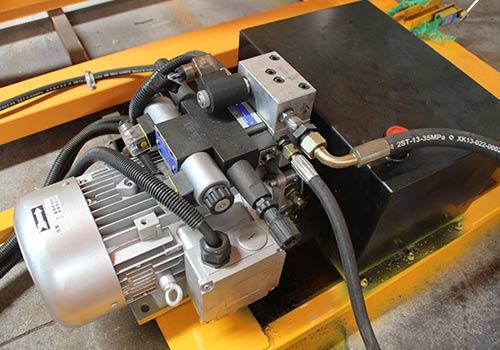 scissor lift hydraulic motor