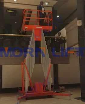 vertical mast lift application