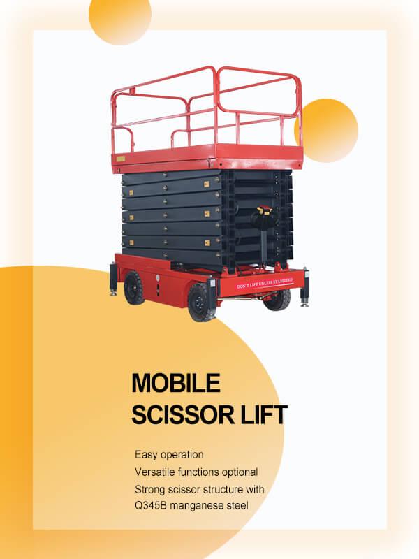 mobile sicssor lift banner