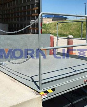 scissor dock lift application