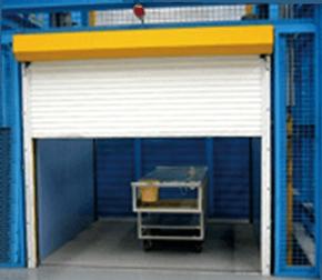 cargo lift roller shutter