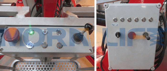boomlift dual control
