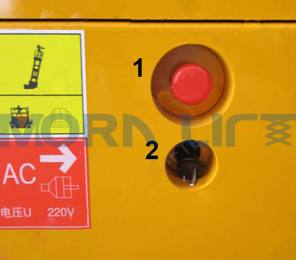 self-propelled scissor lift total switch