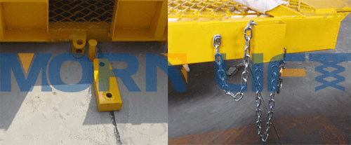 mobile loading ramp detail parts