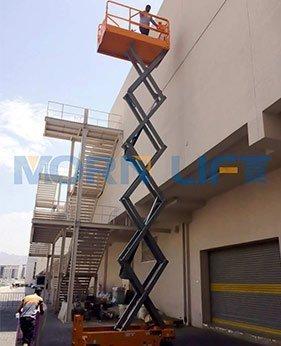 electric scissor lift application