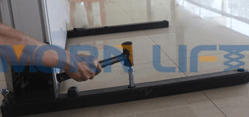 wheelchair lift intallation