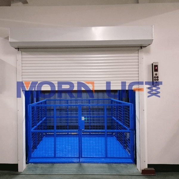 Description of the six advantages of hydraulic goods elevator