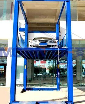 four post car lift application