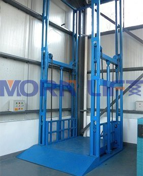 four post cargo lift application