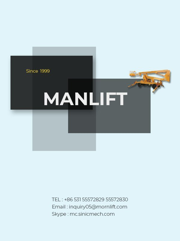 manlift banner