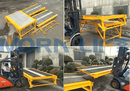 Mobile Loading Dock Ramp 24