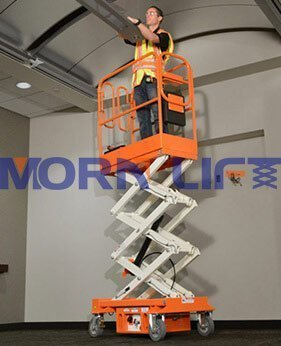 small scissor lift application