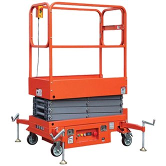 small electric scissor lift