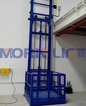 two post cargo lift application