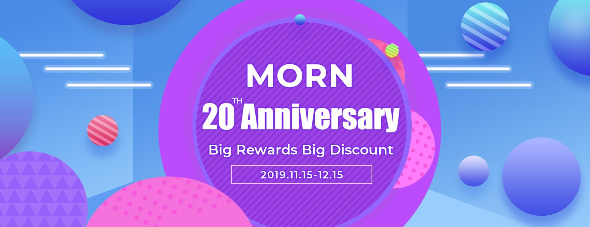 MORN 20 Anniversary Promotion 2