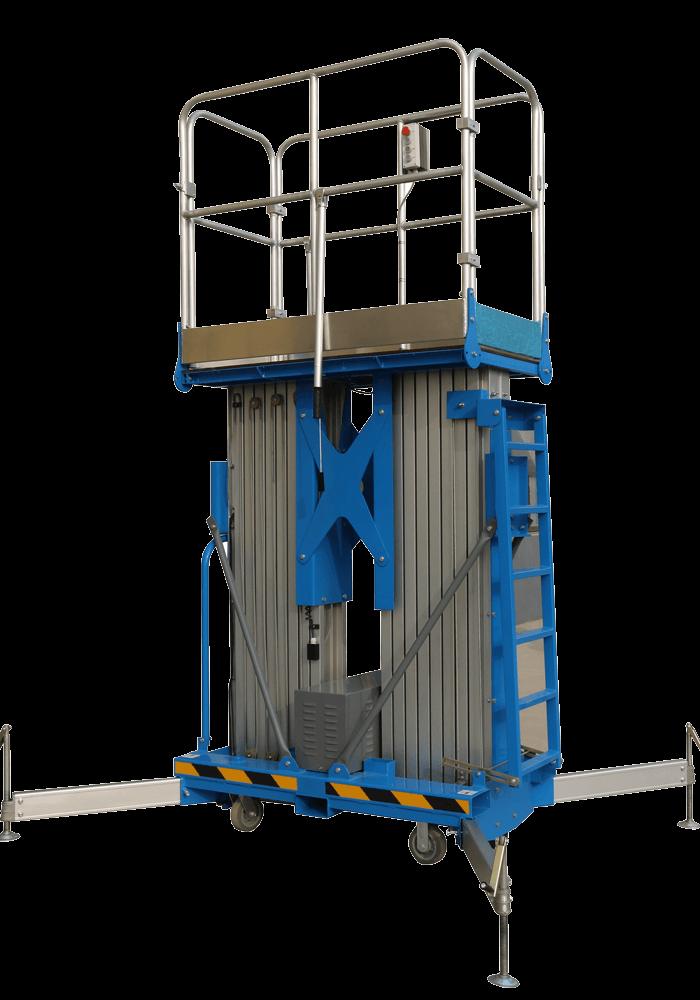 tow post mast lift