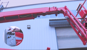 MORN LIFT Towable Boom Lift with Rotating Platform Speeds Up Your Aerial Work 6